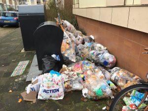 afval in oud-achterwillens