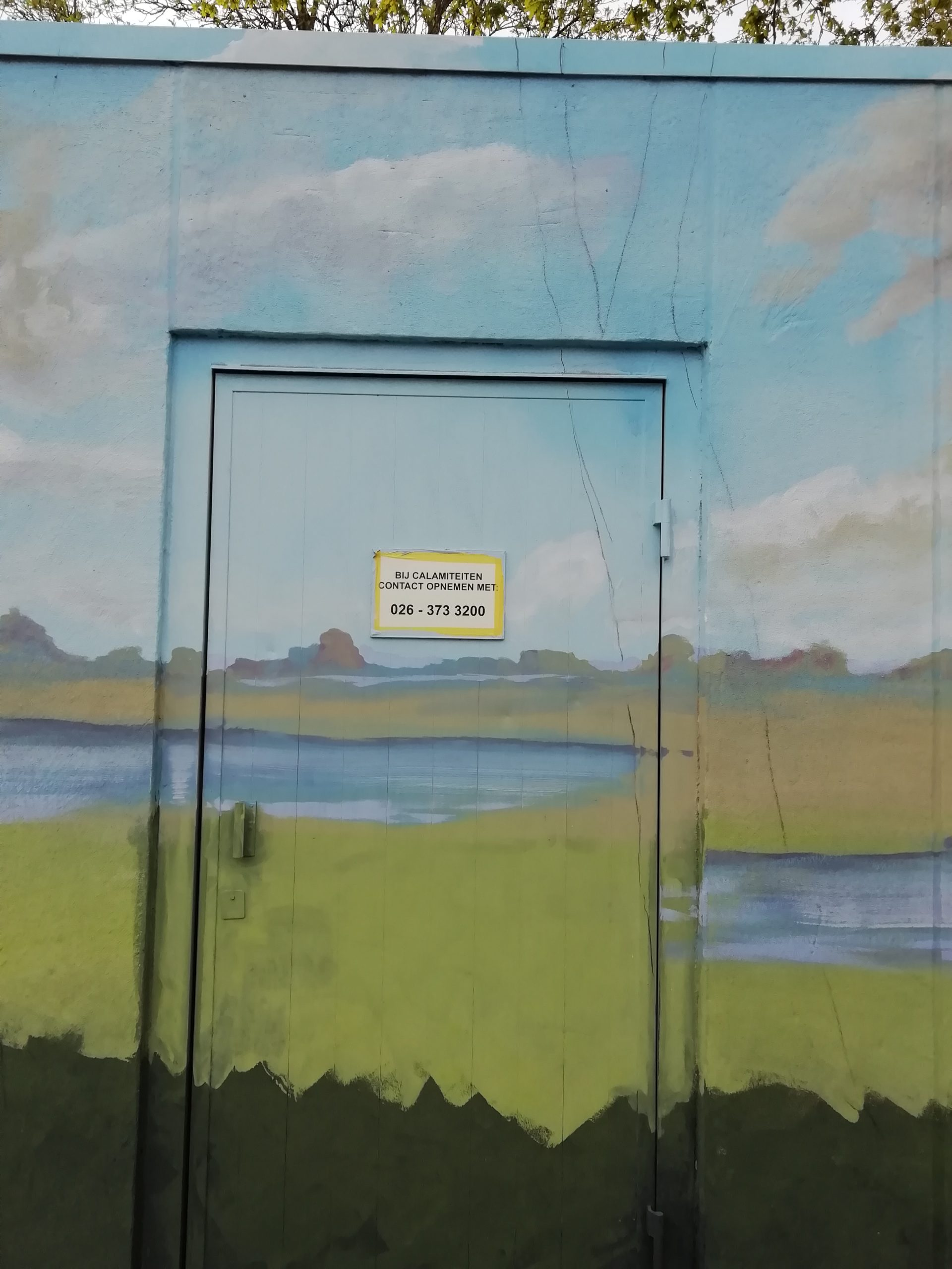 deur Tennet huisje