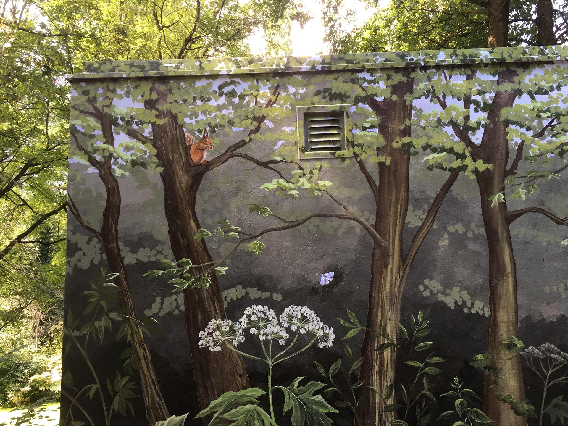 Tennet huisje kralingse bos