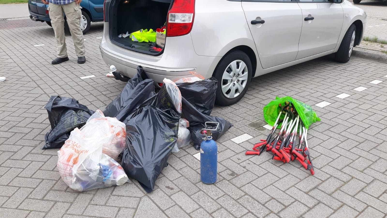 oogst Clean up Middenwillens